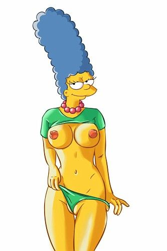 The goddess simpsons adult cartoon right she