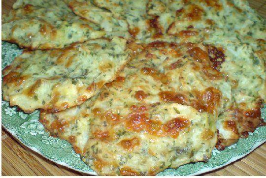 Оладьи из молодой капусты с сыром/из духовки...