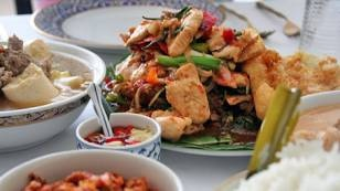 Thai chicken stirfy