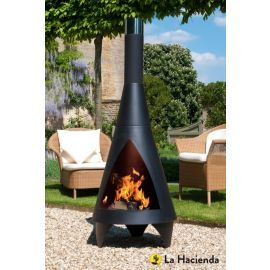 Buy La Hacienda XL Steel Chimenea from our Chimineas range - Tesco
