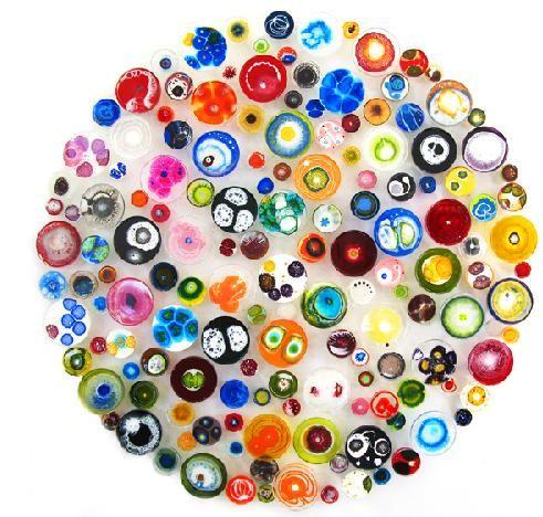 petri dish painting! by klari reis