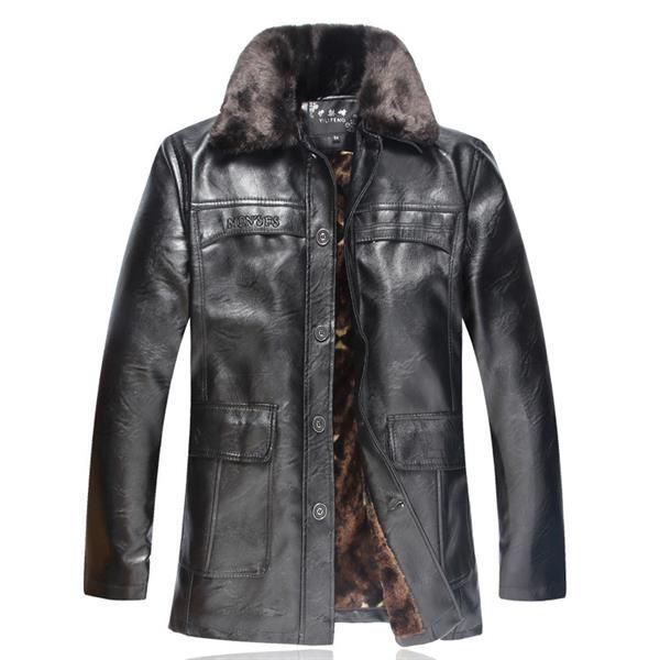 Куртки кожаные пальто