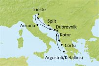 $43 per day Adriatic/Mediterranean Cruise 7 nights – Costa Classica – Oct 20, 2012 | Luxury Voyages for Less
