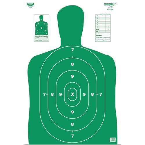 Birchwood Casey Eze Scorer BC27 Grn 12x18 Paper Target 10PK
