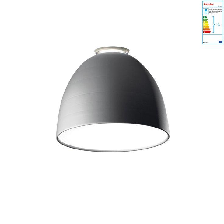 Artemide - Nur Mini Soffitto Deckenleuchte, aluminiumgrau Jetzt bestellen unter: https://moebel.ladendirekt.de/lampen/deckenleuchten/deckenlampen/?uid=66f49996-6b75-53b7-812c-2c42f3090f0f&utm_source=pinterest&utm_medium=pin&utm_campaign=boards #deckenleuchten #lampen #deckenlampen