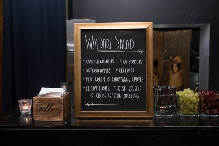 Waldorf Salad Station