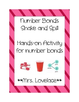 Number Bonds to 10: Shake and Spill Game - Singapore math