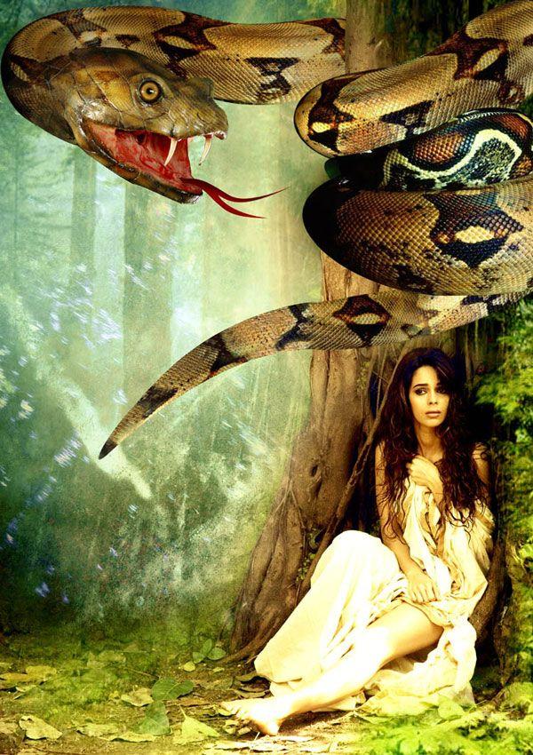 Nagini in India | Mallika sherawat starring bollywood movie Hiss as nagini is being ... #yoga