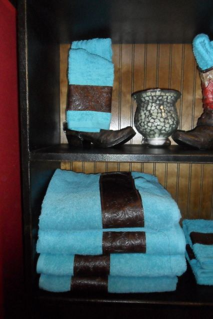 Towel Set ,Western Bathroom  3 piece