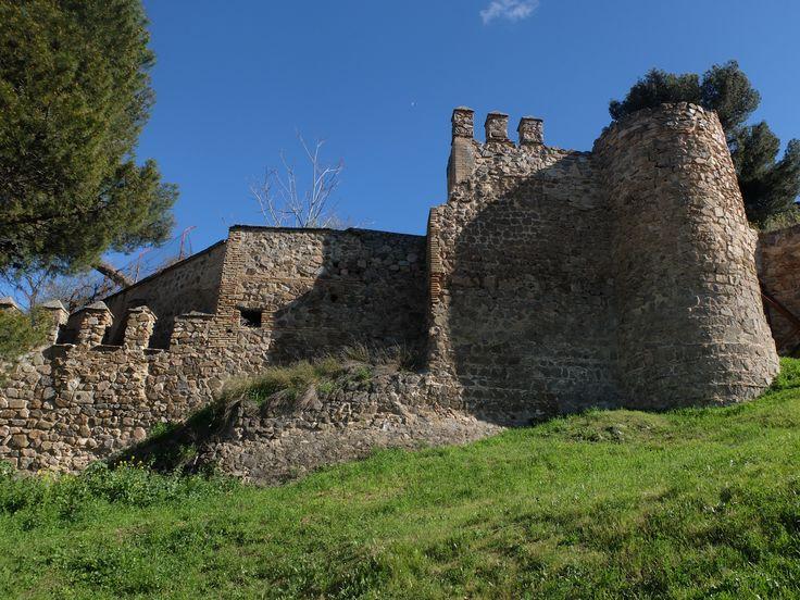 Muralla entre el Edificio del Nuncio y el de la Diputación provincial