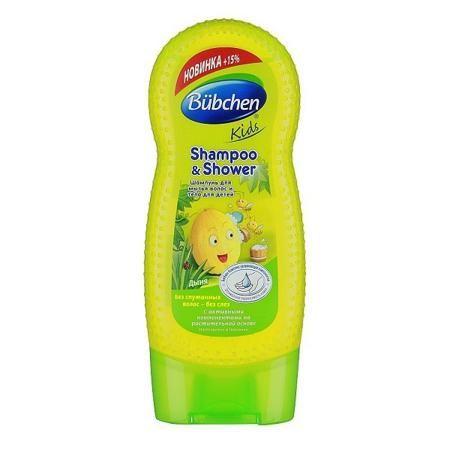 Детский шампунь Bubchen для мытья волос и тела Дыня 230 мл.  — 259р.  Детский шампунь Детский шампунь Bubchen для мытья волос и тела Дыня 230 мл.