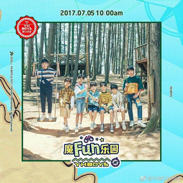 "809 Suka, 11 Komentar - YHBOYS组合 • NEW ROOKIE BOYGROUP (@yh.boys) di Instagram: ""YHBOYS new single '魔Fun乐园 will be released on 5th of July, 10:00~ #yhboys组合 #YHBOYS #组合 #魔Fun乐园"""