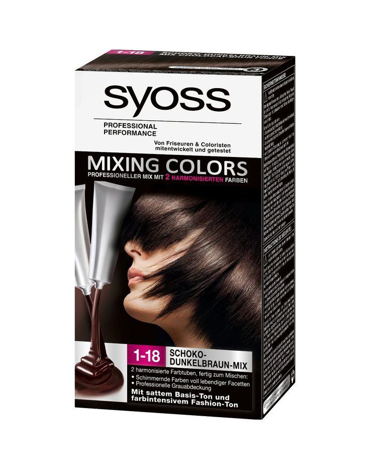 Syoss Mixing Colors 1.18 Dark Chocolate Fusion