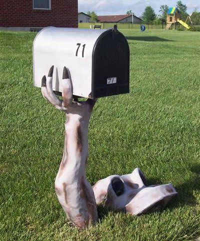 As mais curiosas e engraçadas caixas de correio   Geral Ligado