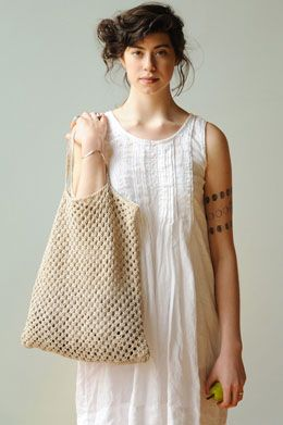 I could really use some bags like this.  From Quince & Co.'s Lookbook