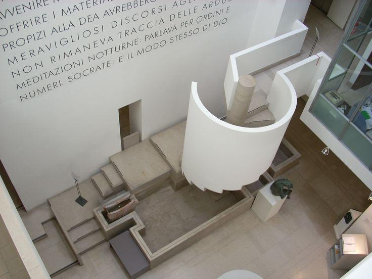 Carlo Scarpa, the Museo Revoltella in Trieste, Italy