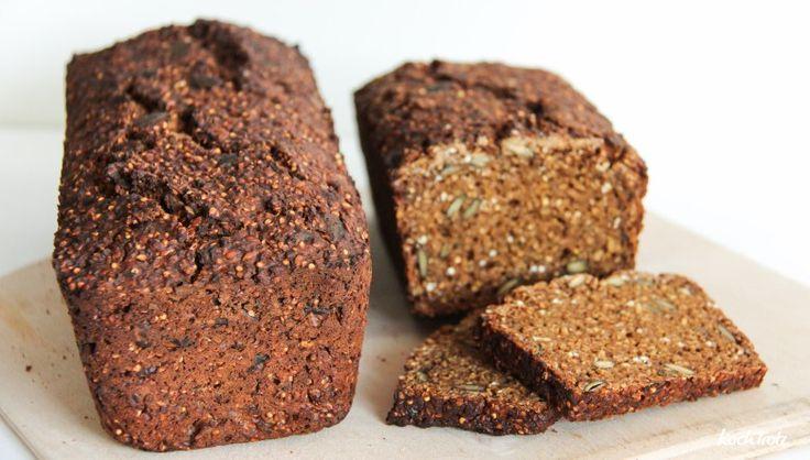 Rezept für das leckerste, einfachste und glutenfreie Schwarzbrot der Welt
