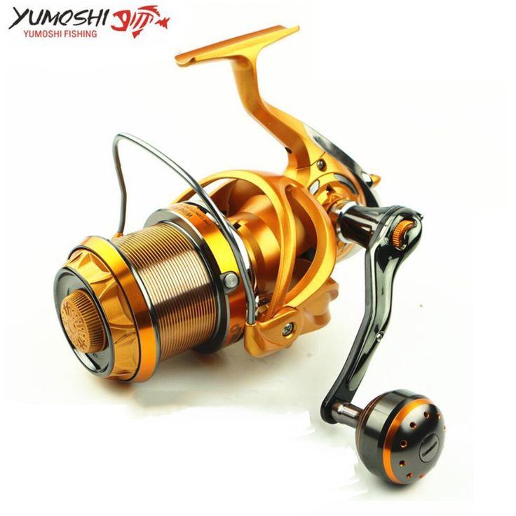 66.50$  Buy here - http://aliu2j.worldwells.pw/go.php?t=32791139876 - Pesca Big Sea Fishing Reel Carretilhas de pecasaria 10BB 5.5:1 Molinete para Dstant Long Shot Spinning Reel fishing accessories 66.50$