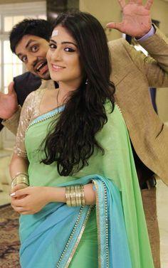 "Serial actress Radhika madan latest saree photo in ""Meri Aashiqui Tum Se Hi"" colors TV serial. She is beautiful in dual color saree. Radhika madan saree im"