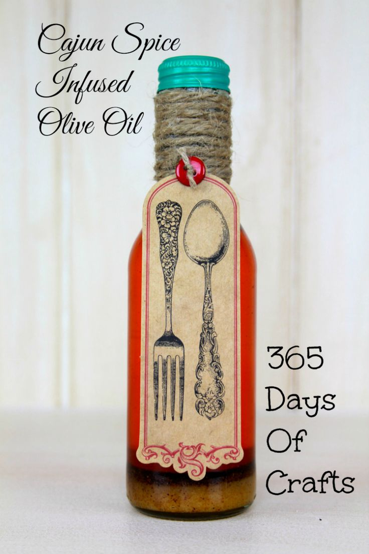 Infused Olive Oil Holiday Gift