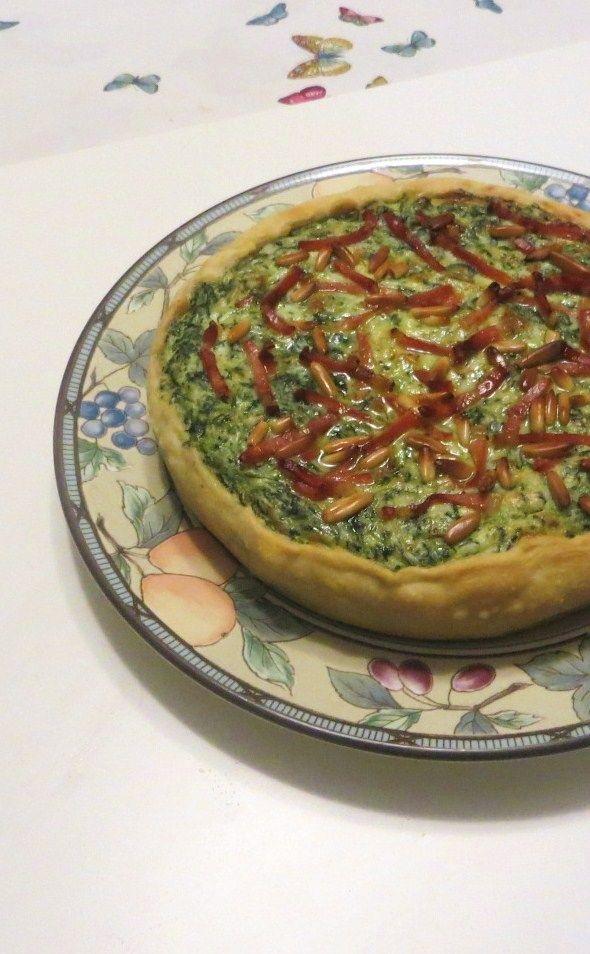 Torta salata di bietola e speck