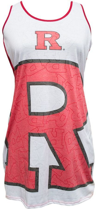 Women's Rutgers Scarlet Knights Cameo Nightgown