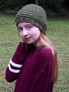 9665e3ac Ravelry: KnitMaple's That easy Guernsey hat | Stuff I made | Hats ...