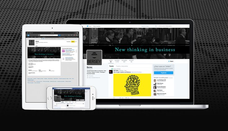 Redes Sociales de Bersey, empresa que transforma ideas en proyectos, y que dirige el consultor Alberto Ezcurra.