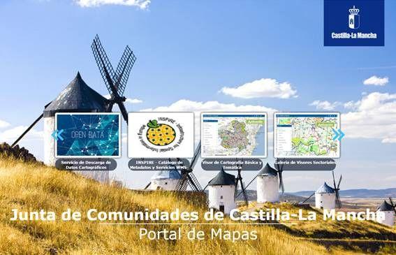 Castilla-La Mancha lanza un nuevo geoportal donde podrás tener acceso al directorio de servicios y datos, además de a numeroso visores.