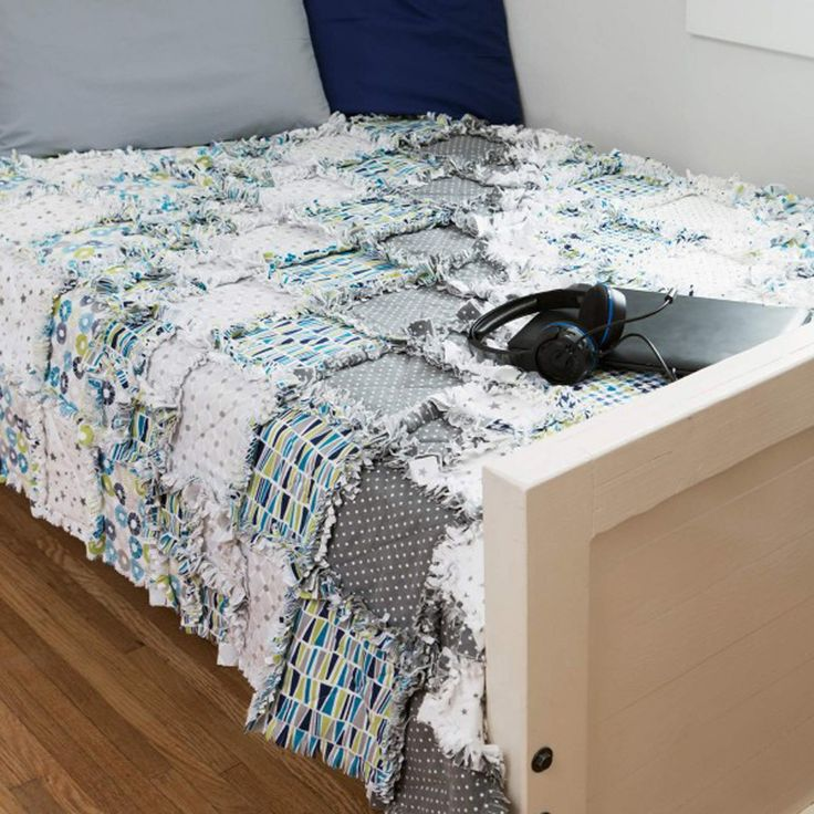 10 best Rag Quilts images on Pinterest | Costura, Cast on knitting ... : accuquilt rag quilt - Adamdwight.com