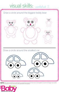 School Readiness Activities Activity Printables