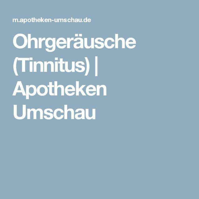 Ohrgeräusche (Tinnitus)   Apotheken Umschau