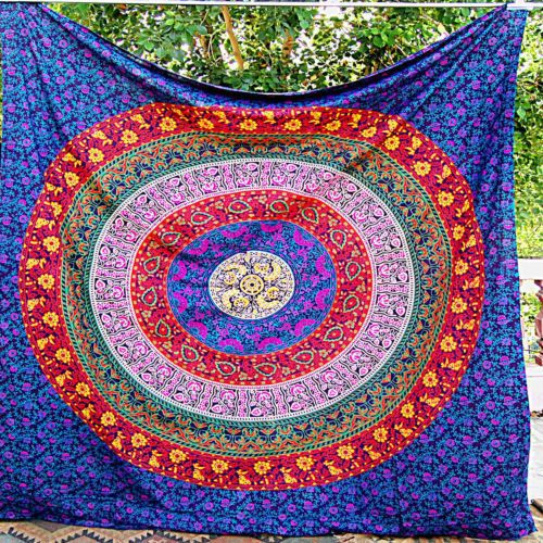 Check out this item in my Etsy shop https://www.etsy.com/uk/listing/454320194/queen-mandala-tapestry-indian-wall