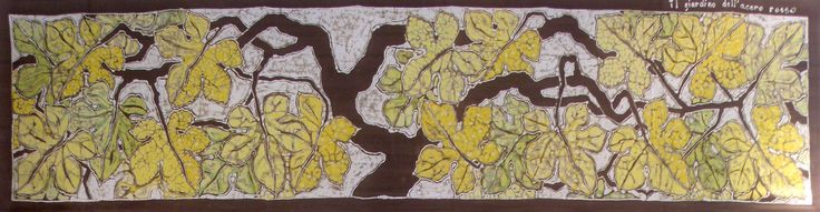 "decorative panel ""grapes"" www.ilgiardinodellacerorosso.com"