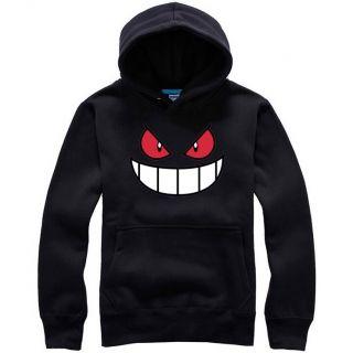 Gengar hoodie Pocket Monster XXL hooded sweatshirts fleece
