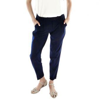Pantalón Le minuit Kool-Azul Oscuro #fashion #summer #liniofashionco #pants #girl #lookbook #verano #moda #fashion
