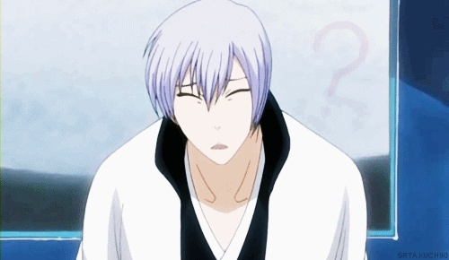 Ichimaru Gin, one of those rare moments when he actually manages to be cute instead of creepy