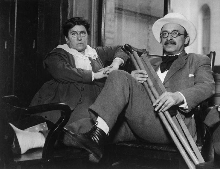 Emma Goldman and Alexander Berkman around 1917-1919