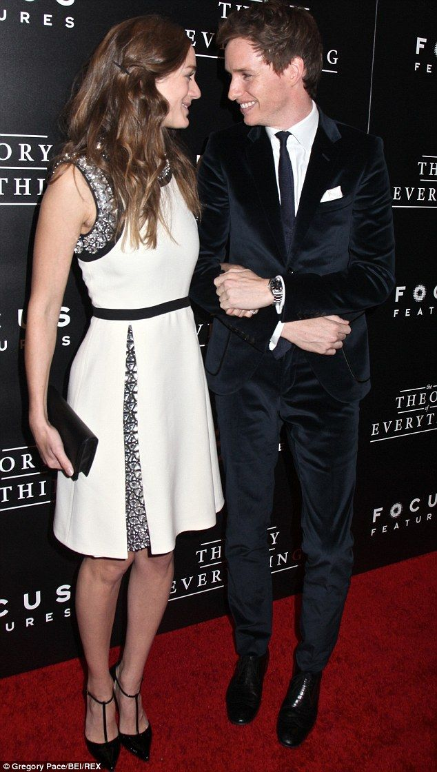 Lovebirds: Eddie Redmayne and his bride-to-be Hannah Bagshawe threw a party for 100 of their family and friends in September, which is said to be regarded as the celebration of the marriage