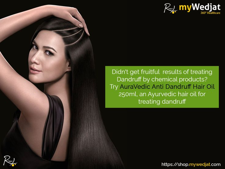 Didn't get fruitful results of treating dandruff by chemical products? Try AuraVedic Anti Dandruff Hair Oil 250ml, an Ayurvedic hair oil for treating dandruff  https://goo.gl/YADPYa  #myWedjat   #Ayurvedic  #HairOil
