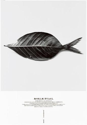 日本平面设计大师第十四期之【新村则人】(一)海报: