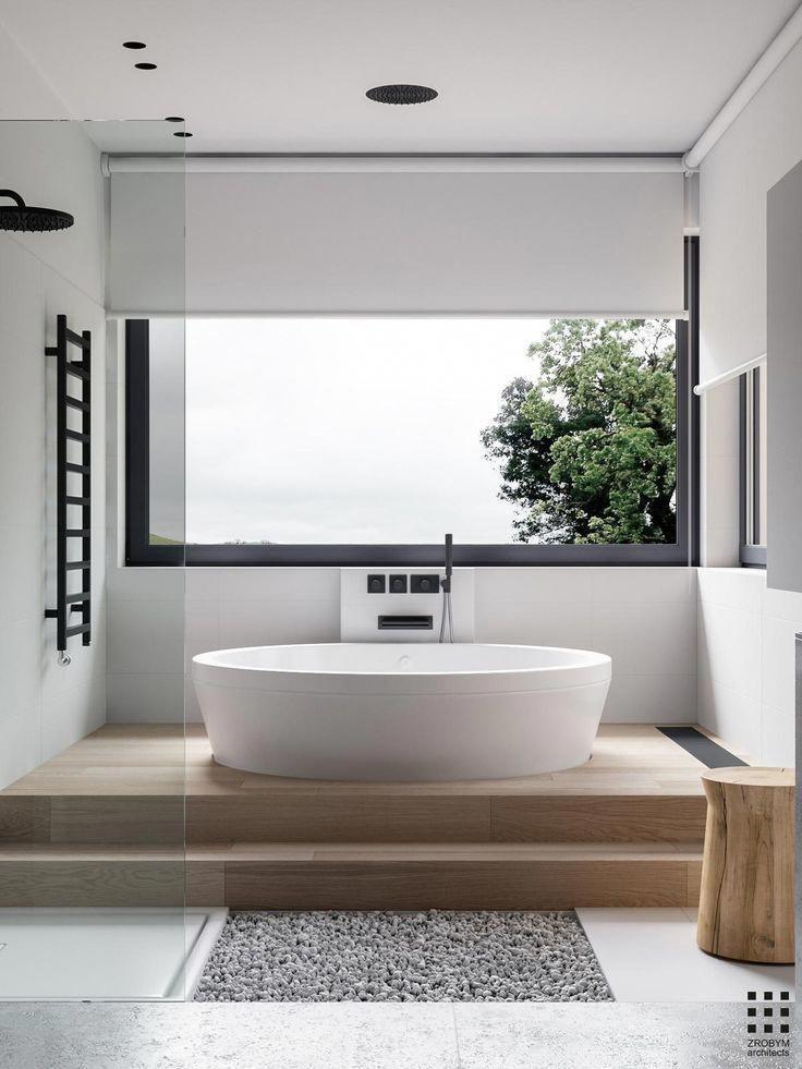 21 Bathroom Remodel Ideas The Latest Modern Design Bathroom Freestanding Modern Bathroom Design Bathroom Interior Design