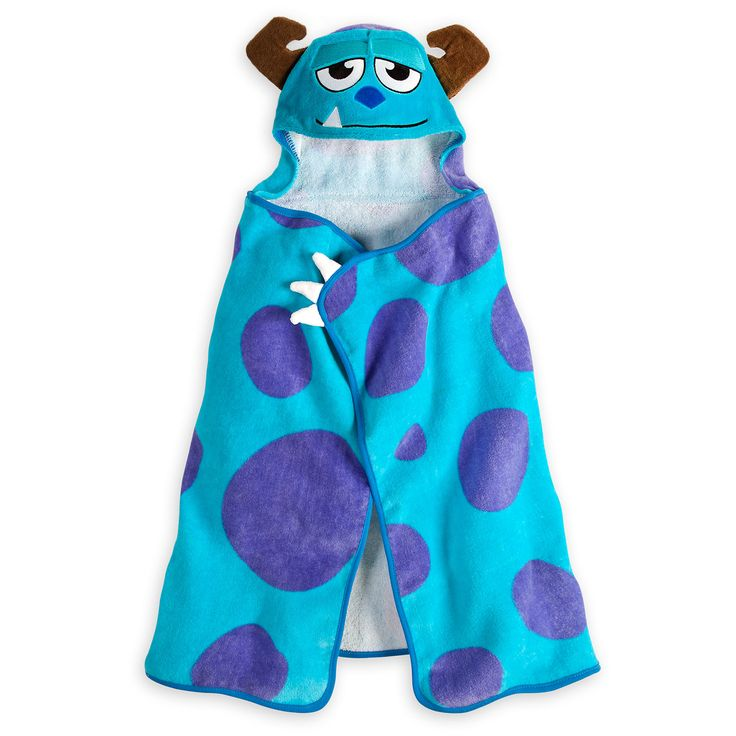 Monsters, Inc. Hooded Towel for Baby - Personalizable