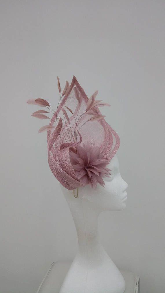 Stunning hatinator in dusky pink 6f6d2490952