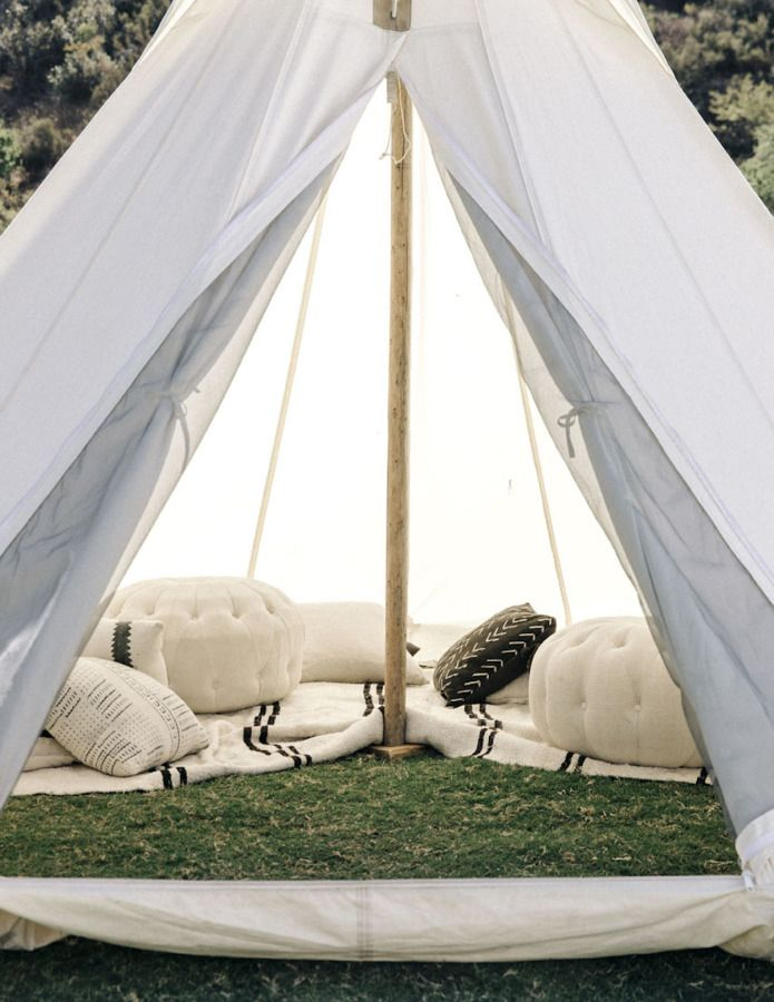 Chic teepee for you and your girls camping trip: http://www.stylemepretty.com/living/2016/10/13/want-to-master-chic-camping-heres-how/ Photography: Tom Story - http://tomstory.com/