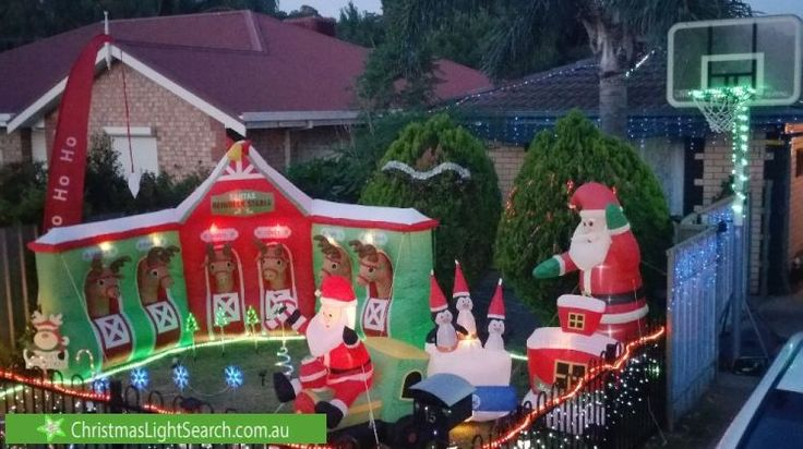 Christmas Lights in Salisbury, SA. http://xmaslights.co/salisbury