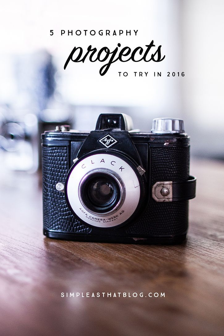 I believe that creativity is a muscle and if you don't use it, it will atrophy. Here are 5 photography projects to try this year that will help you improve your skills and stretch those creative muscles!