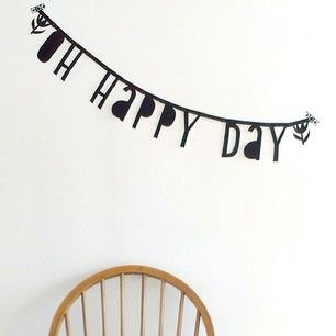 #Wordbanner #tip: O happy day - Buy it at www.vanmariel.nl - € 11,95