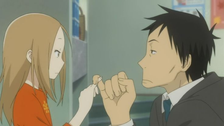 Pinky Promise in Usagi Drop, cutest series I've EVER watched.