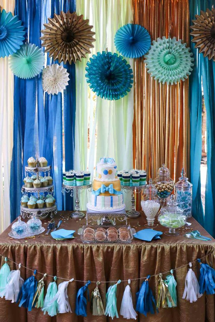 Baby Shower Themes Colors ~ Best images about baby boy shower gold teal